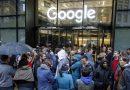 Des milliers d'employés de Google manifestent à travers le monde