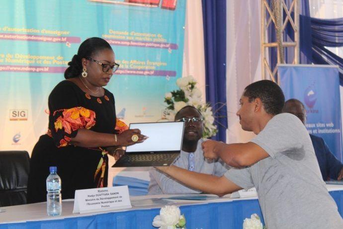 Projet e-Burkina : des e-services et nouveaux sites web des ministères et institutions lancés