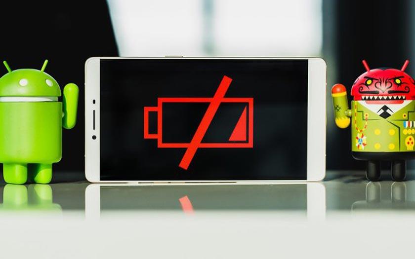 Les Services Google Play usent la batterie des smartphones Android
