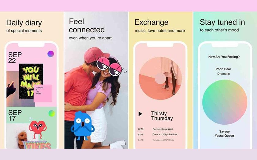 Facebook propose une app de messagerie uniquement pour les couples