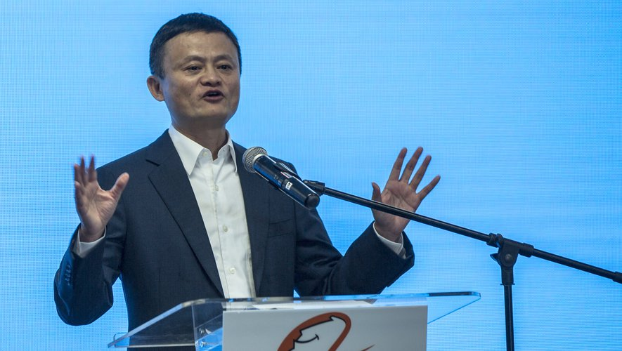 """Chine : Jack Ma, le fondateur d'Alibaba porté """"disparu"""""""